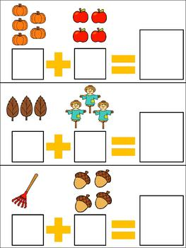 Count to Add Activities: Fall