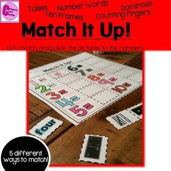 Count to Ten Math Activity
