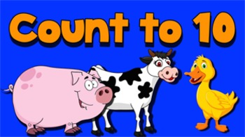 Count to Ten Music Video- With Farm Animals!