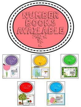Count to Ten Number Book Flower -CCA