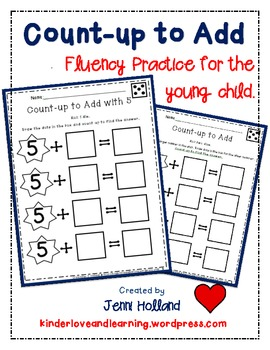 Count-up to Add {Fluency Practice for the Young Child}