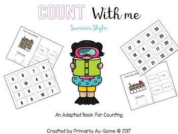 Count with Me - Summer Style (An Adapted Book for Counting to 20)
