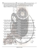 Countable-Uncountable Nouns Magic Square Worksheet