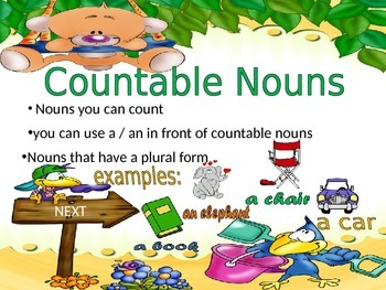 Countable / Uncountable Nouns (PPT)