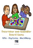 Countable and Uncountable Noun Board Game