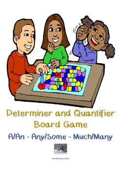 Countable and Uncountable Noun Board Game
