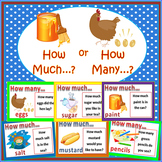 Countable and Uncountable Nouns - Sorting Card Games