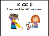 Count and Tell How Many: Math Center (K.CC.5)