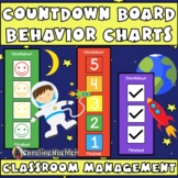 Countdown Board: Individual Behavior Chart for Classroom Management
