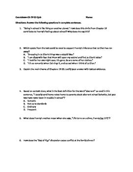 Countdown Ch 19-23 Quiz