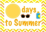 Countdown: Days to Summer {FREEBIE}