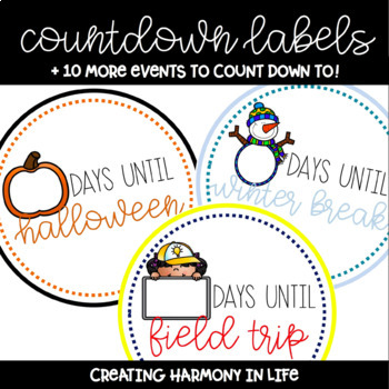 Countdown Labels