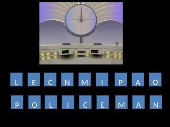 Countdown Quiz - English