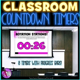 Distance Learning Countdown Timers for PowerPoint