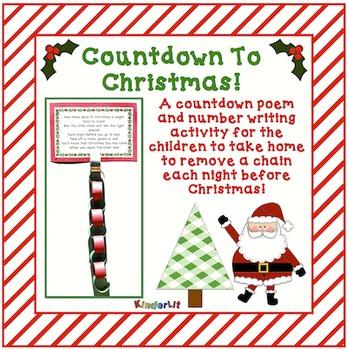 Countdown To Christmas FREEBIE