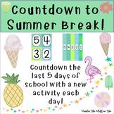 Countdown To Summer Break