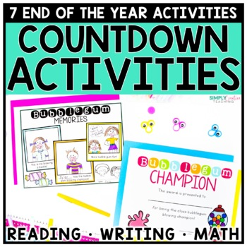 End of the Year Countdown Activities & Celebrations