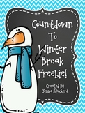 Countdown To Winter Break FREEBIE!