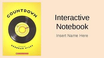 Countdown by Deborah Wiles Interactive Notebook
