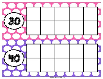 Countdown to 100th Day Freebie