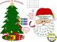 Christmas Activity ~ Christmas Tree and Santa Countdown to