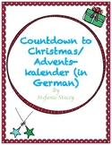 Countdown to Christmas/Adventskalender