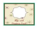 Countdown to Christmas Break snowflake pattern