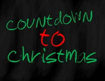 Countdown to Christmas Bulletin Board Set