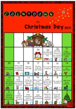 Countdown to Christmas Calendar Freebie