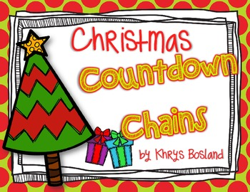 Countdown to Christmas Chain {Fun Holiday Activity}