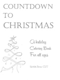 Countdown to Christmas, Christmas coloring book, Coloring for all ages