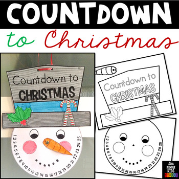 Countdown to Christmas Craft