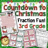 Countdown to Christmas Math: 3rd Grade Fraction Fun