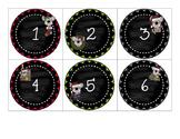 Countdown to Christmas Muffin Tin Covers - 12 Day Countdown - Koalas