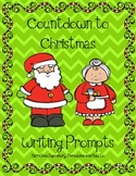 Countdown to Christmas Writing Prompts