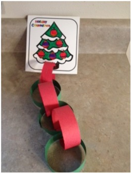 Countdown to Christmas or Winter Break Chain Freebie