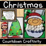 Christmas Countdown with Santa or Tree Craftivity