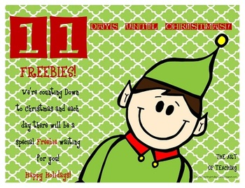 Countdown to Christmas...11 Days Left!