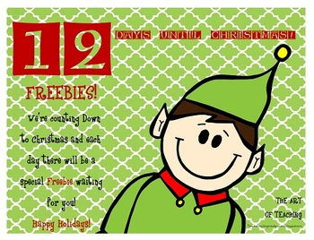 Countdown to Christmas...12 Days Left!