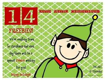Countdown to Christmas...14 More Days Left!