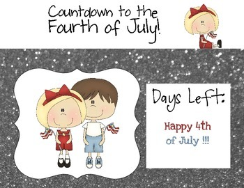 Countdown to Fourth of July