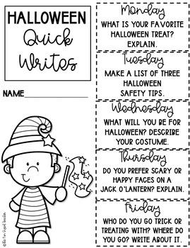 Halloween Literacy and Math Printables
