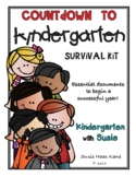 Countdown to Kindergarten Survival Kit