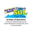 Countdown to SOL 3rd Grade Math, Virginia Standards Practice