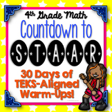 Countdown to STAAR! 30 Days of STAAR Test Review {TEKS-Aligned}