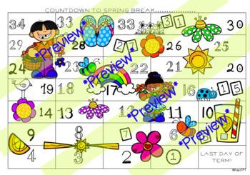 Countdown to Spring Break