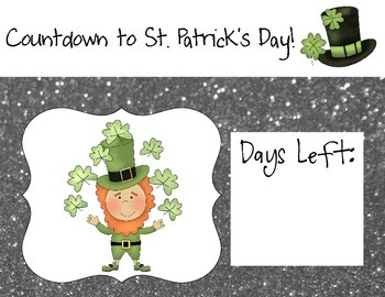 Countdown to St. Patrick's Day!