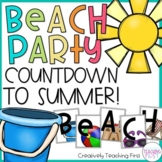 Countdown to End of the Year Summer Beach Party