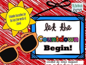 Countdown to Summer Behavior Incentives