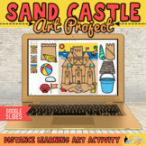 Countdown to Summer: Digital Build a Sandcastle Art Projec